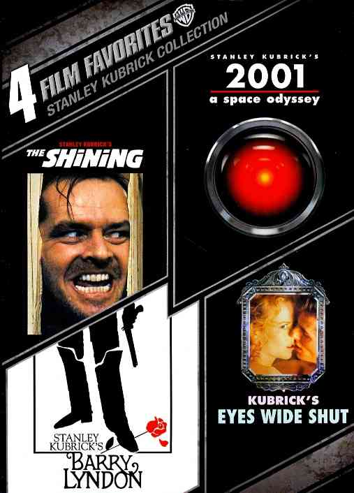 4 FILM FAVORITES:STANLEY KUBRICK COLL BY KUBRICK,STANLEY (DVD)